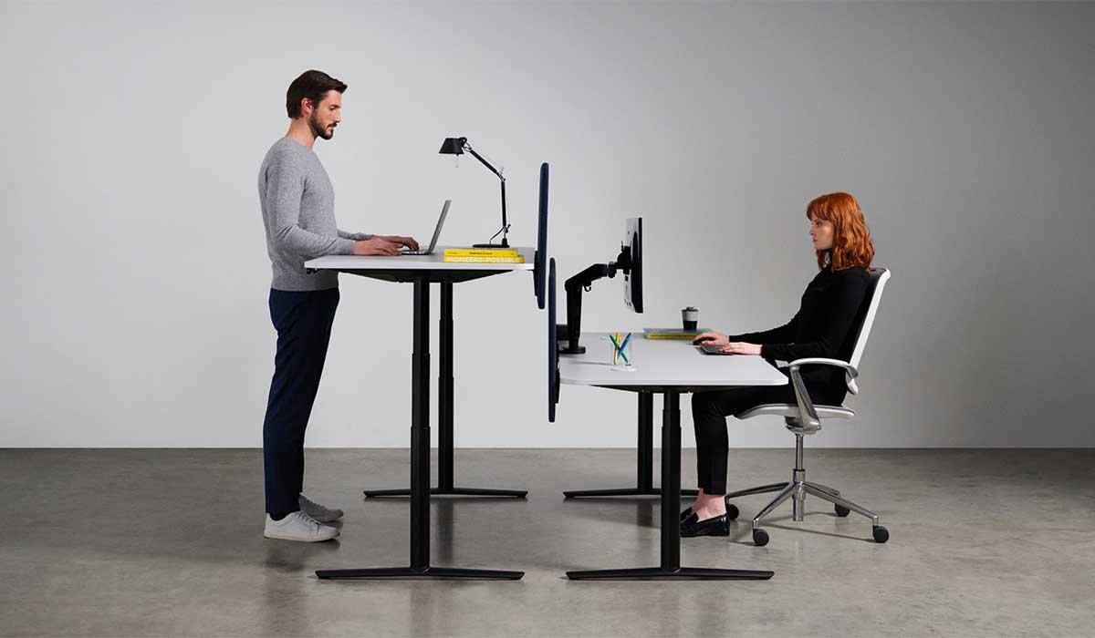 Sit-Stand Desks & Platforms